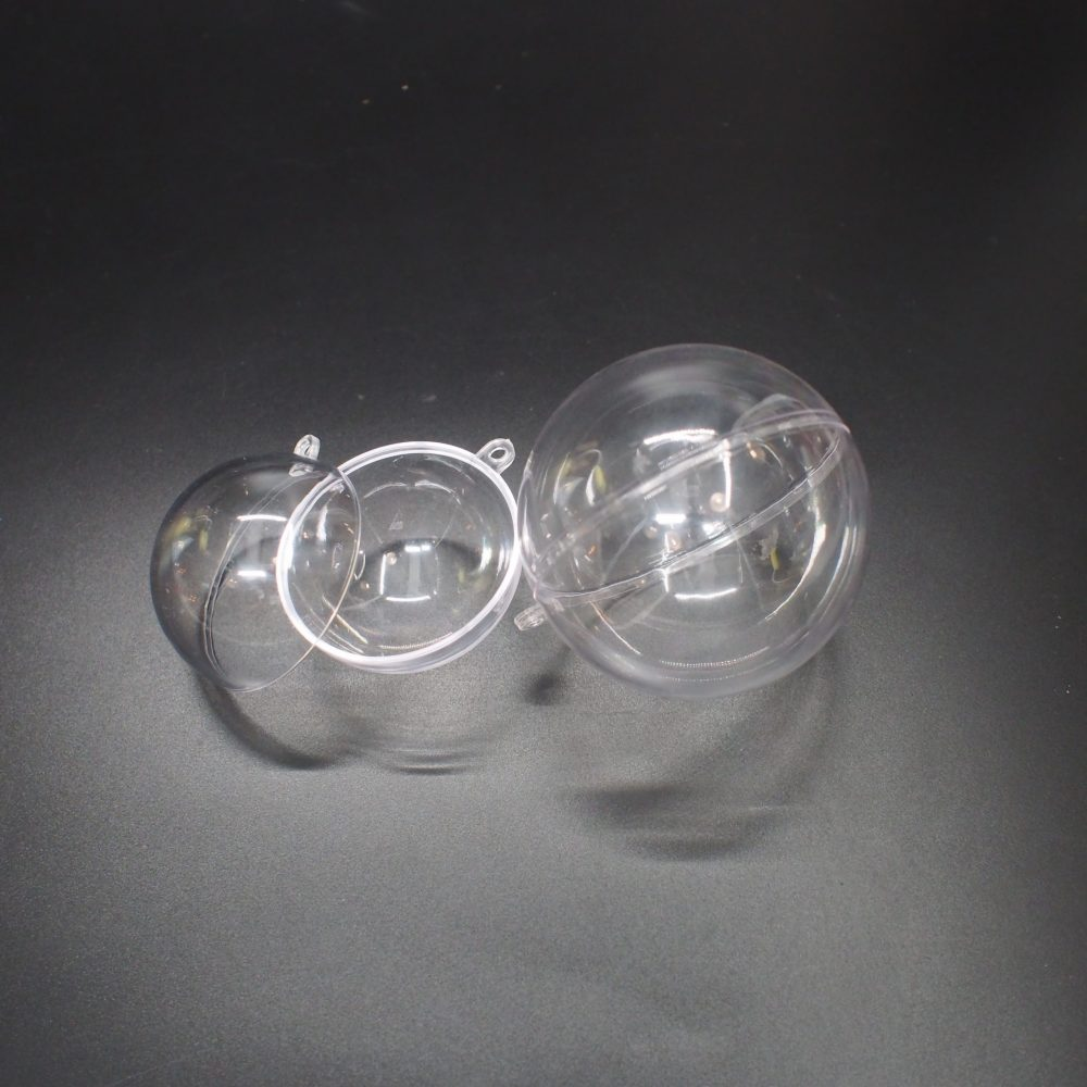 Ball Shape Plastic Container
